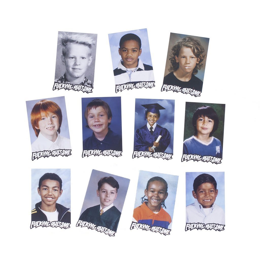 Fucking Awesome Class Photo Sticker Pack | Sticker by Fucking Awesome 1