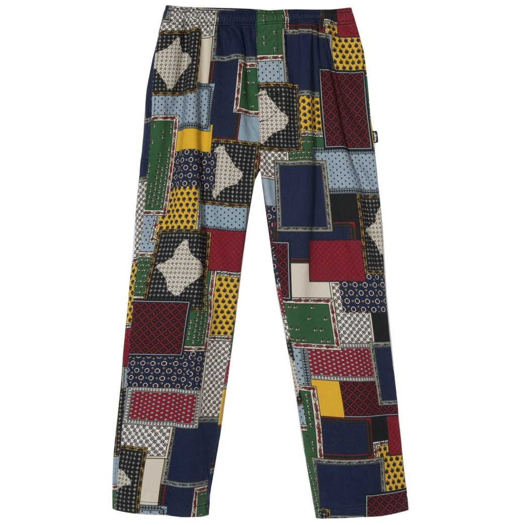 Stussy Patchwork Cord Beach Pants | Trousers by Stussy 1