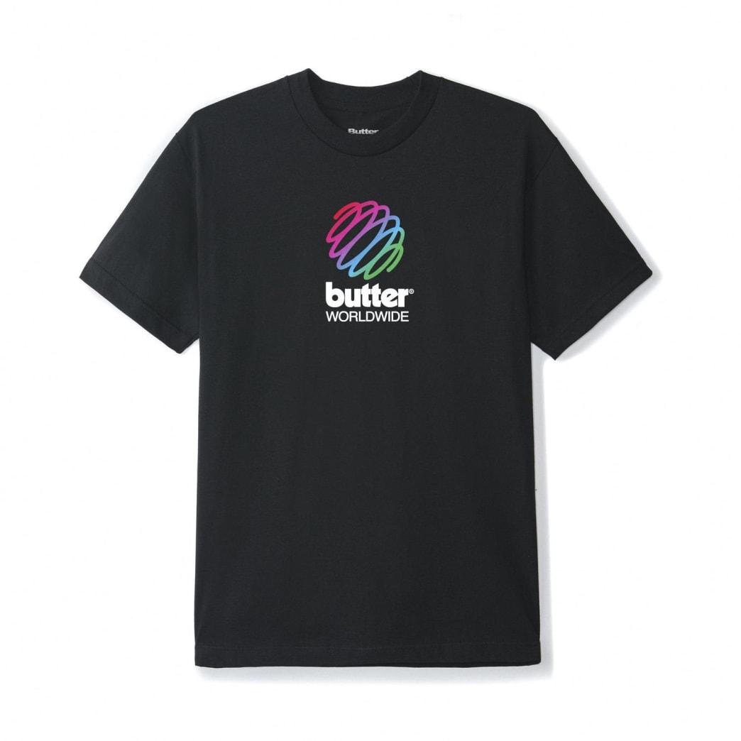 Butter Goods Telecom T-Shirt - Black | T-Shirt by Butter Goods 1