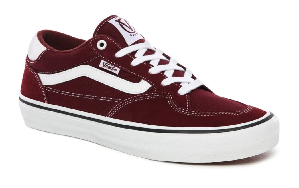 Vans Rowan Pro Skate Shoes - Port / White | Shoes by Vans 4