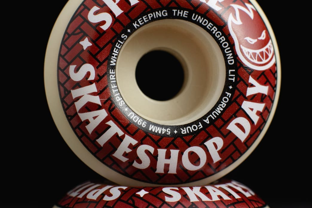 Spitfire Formula Four Classic Skateshop Day Wheels - 52mm | Wheels by Spitfire Wheels 2