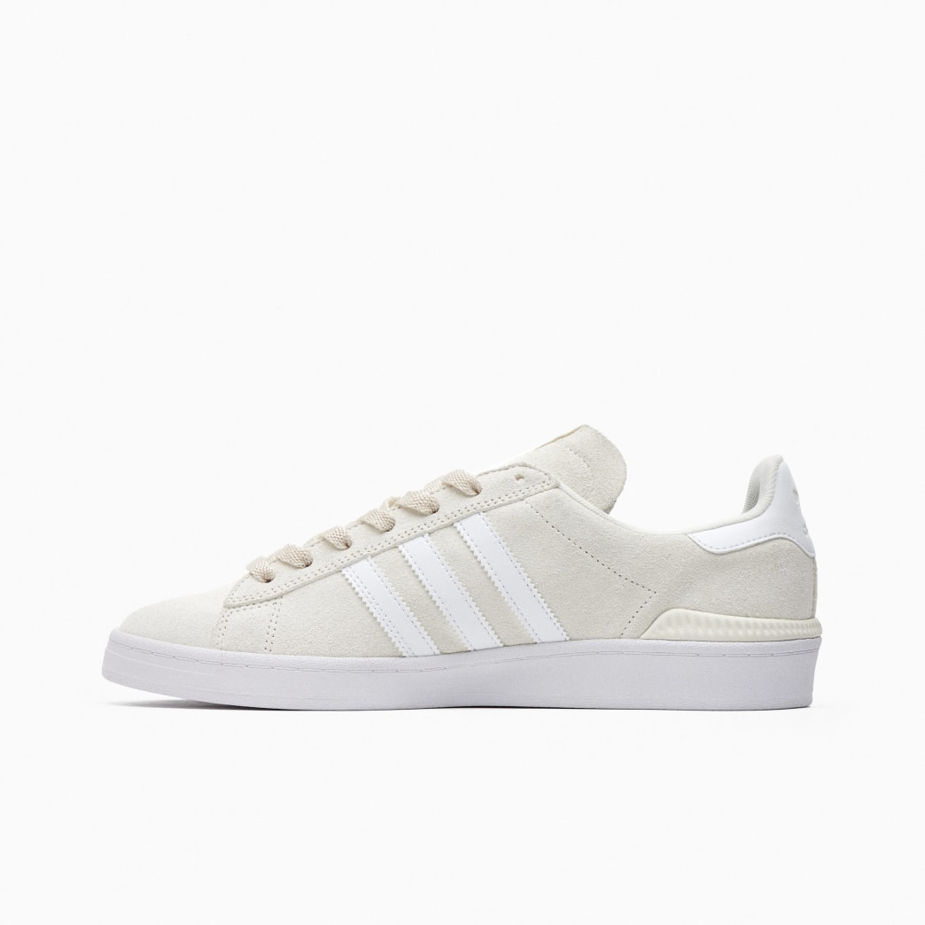 Adidas Campus ADV Skateboarding Shoes - Supplier Colour / FTWR White / Gold Met | Shoes by adidas Skateboarding 3