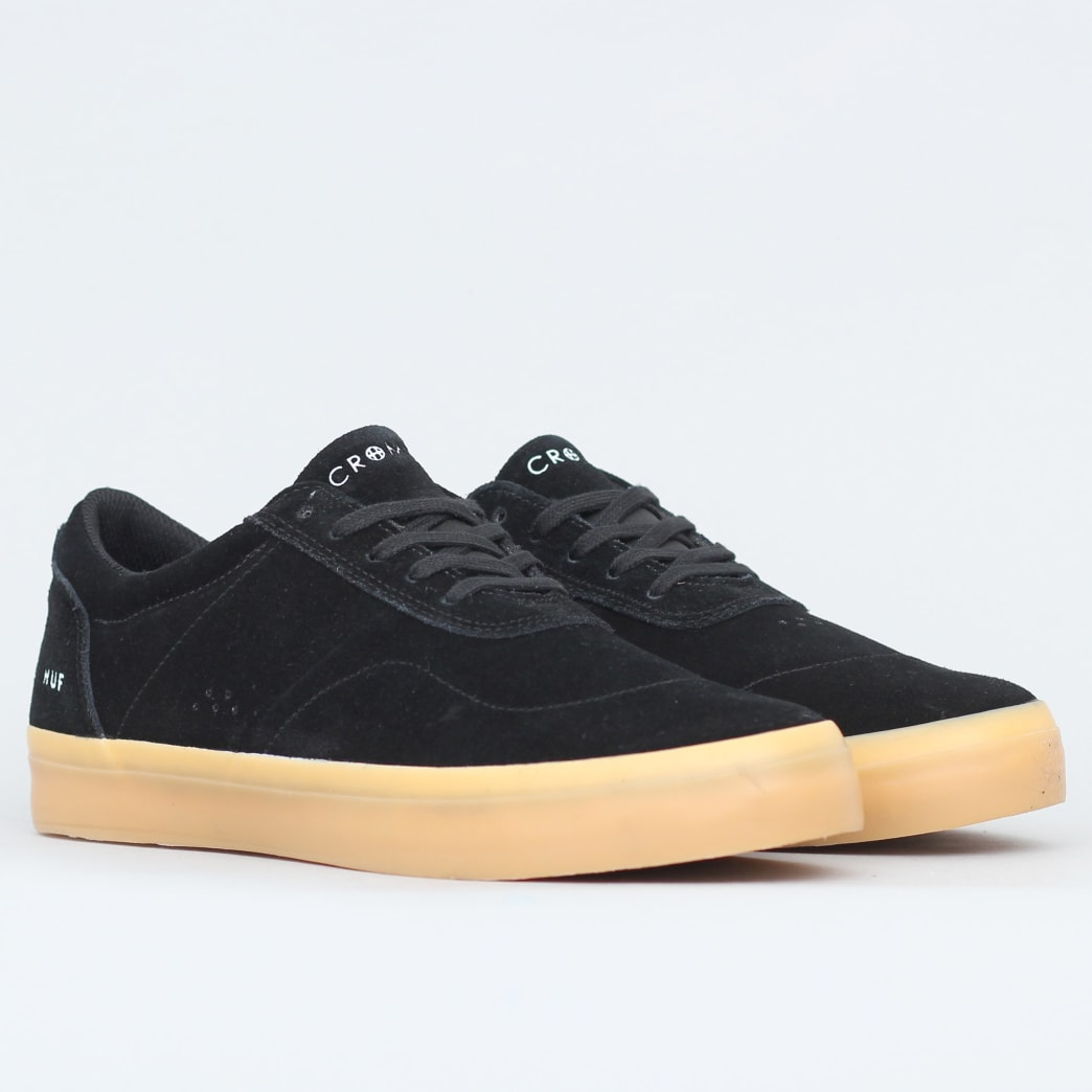HUF Cromer 2 Shoes Black | Shoes by HUF 3