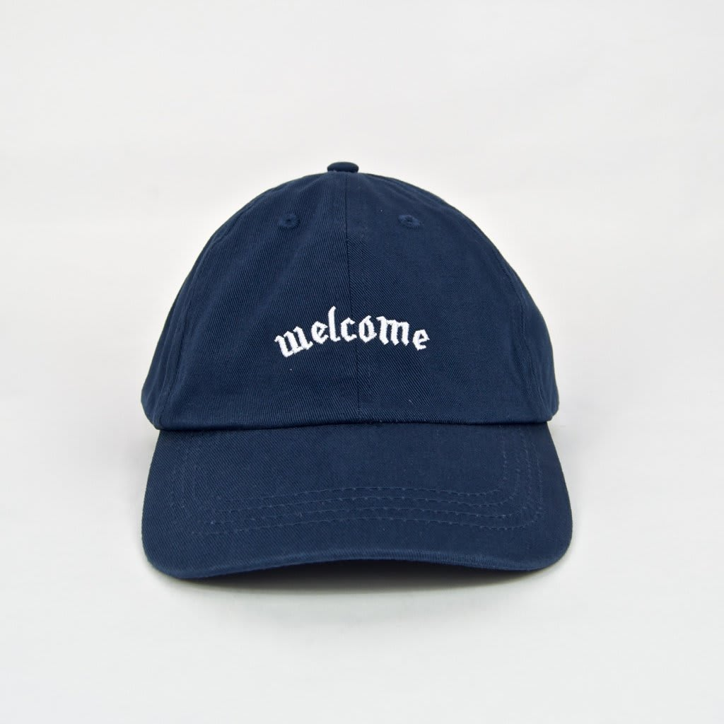 Welcome Skate Store - Fiver Cap - Navy | Baseball Cap by Welcome Skate Store 2
