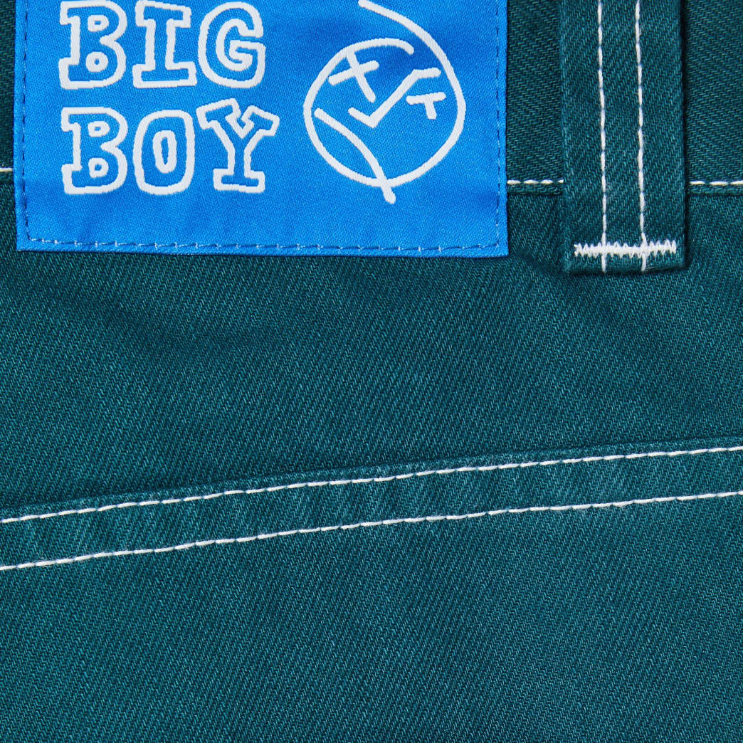 Polar Skate Co Big Boy Jeans - Green | Jeans by Polar Skate Co 5
