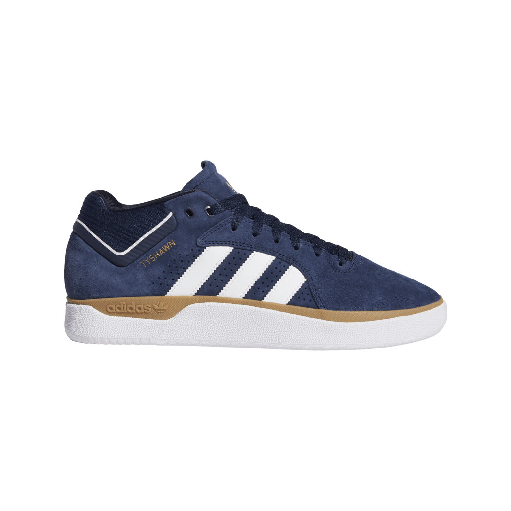 adidas Tyshawn Jones Skate Shoes - Collegiate Navy / FTWR White / Gum 4 | Shoes by adidas Skateboarding 1