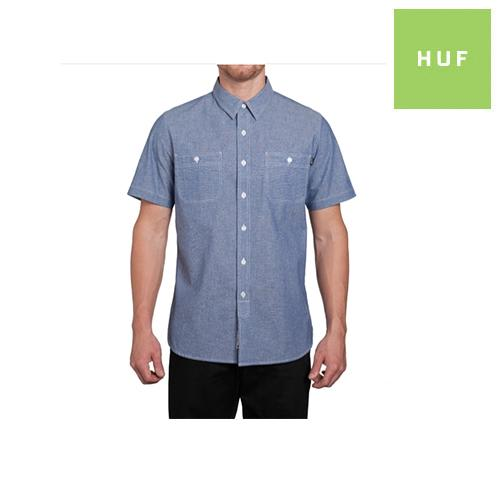 HUF Dungaree Chambray SS Button Down | Shirt by HUF 1