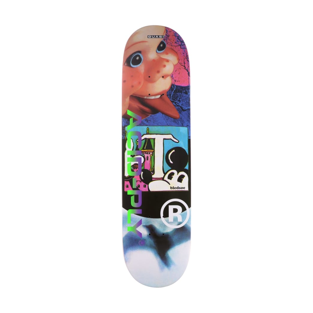 Quasi Bledsoe Acid Ply Skateboard Deck - 8.25"