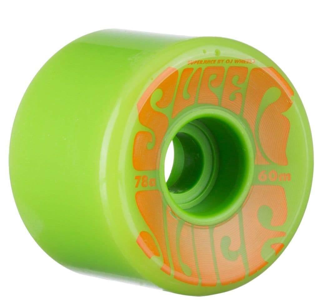 OJ Super Juice Green Wheels 60mm | Wheels by OJ Wheels 1