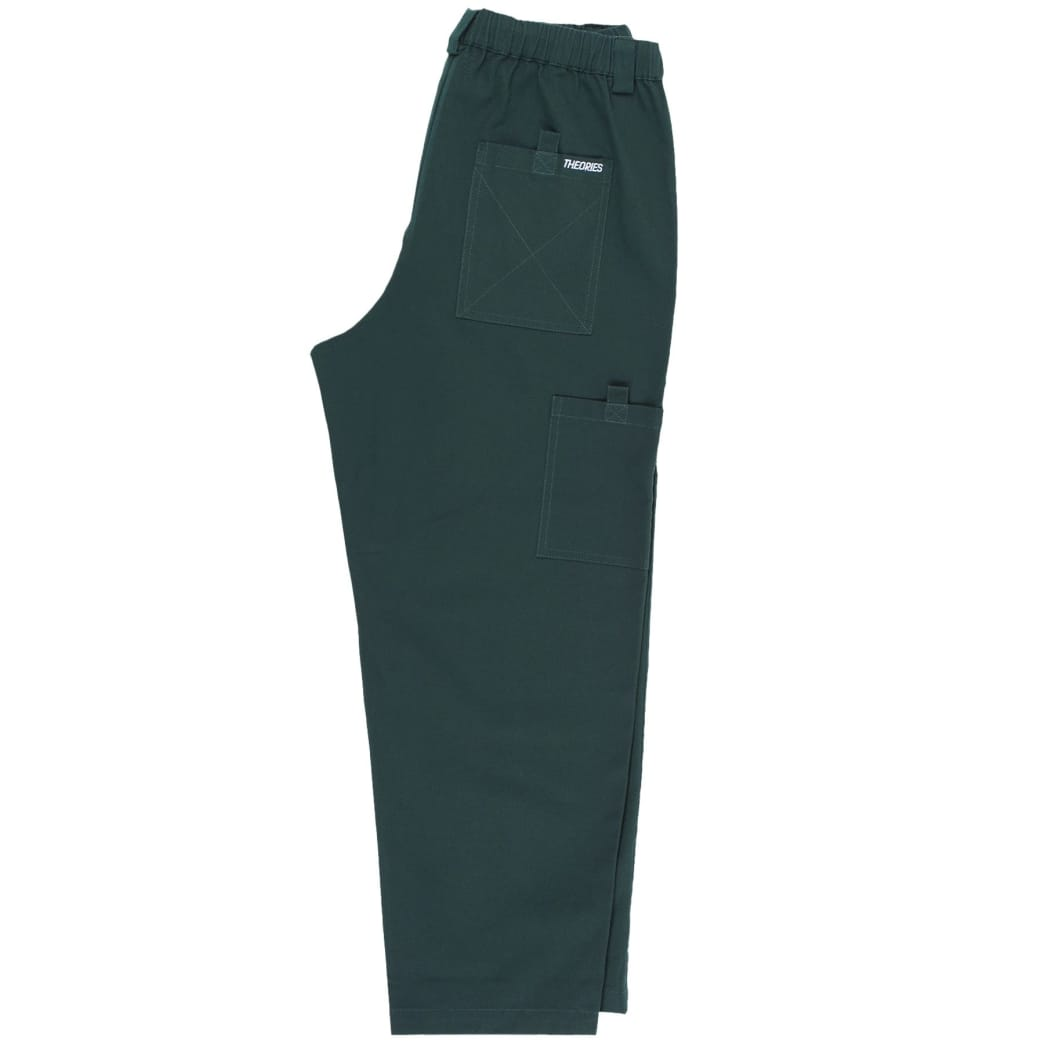 Theories Brand- Stamp Lounge Pant Scarab | Trousers by Theories of Atlantis 2