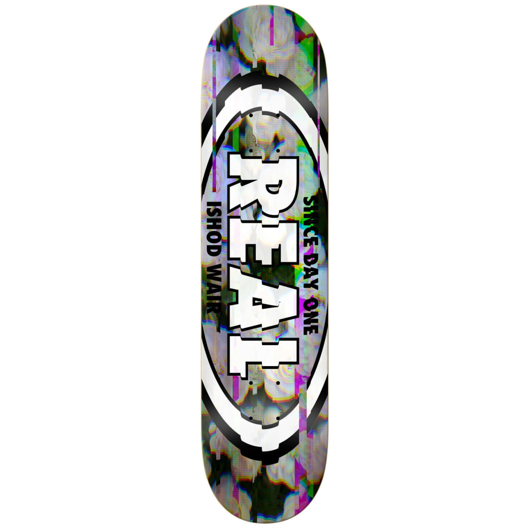 """Real Ishod Glitch Oval Deck 8.5"""" Full SE 