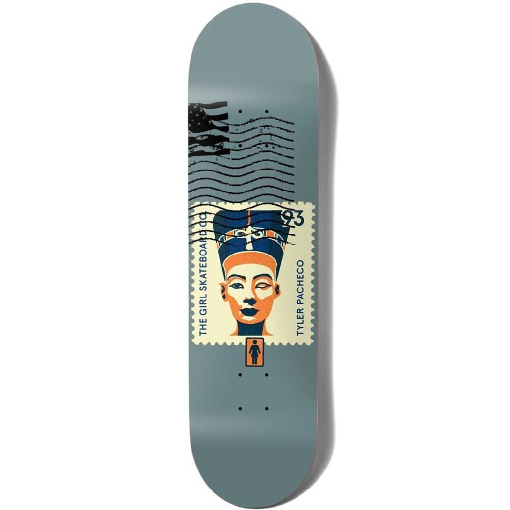 Girl Pacheco Postal Series Deck -8.375 | Deck by Girl Skateboards 1