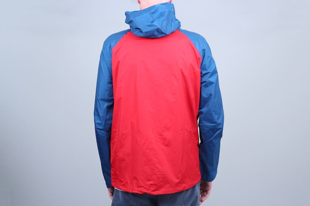 Patagonia Torrentshell Jacket Big Sur Blue W / Fire Red | Jacket by Patagonia 3