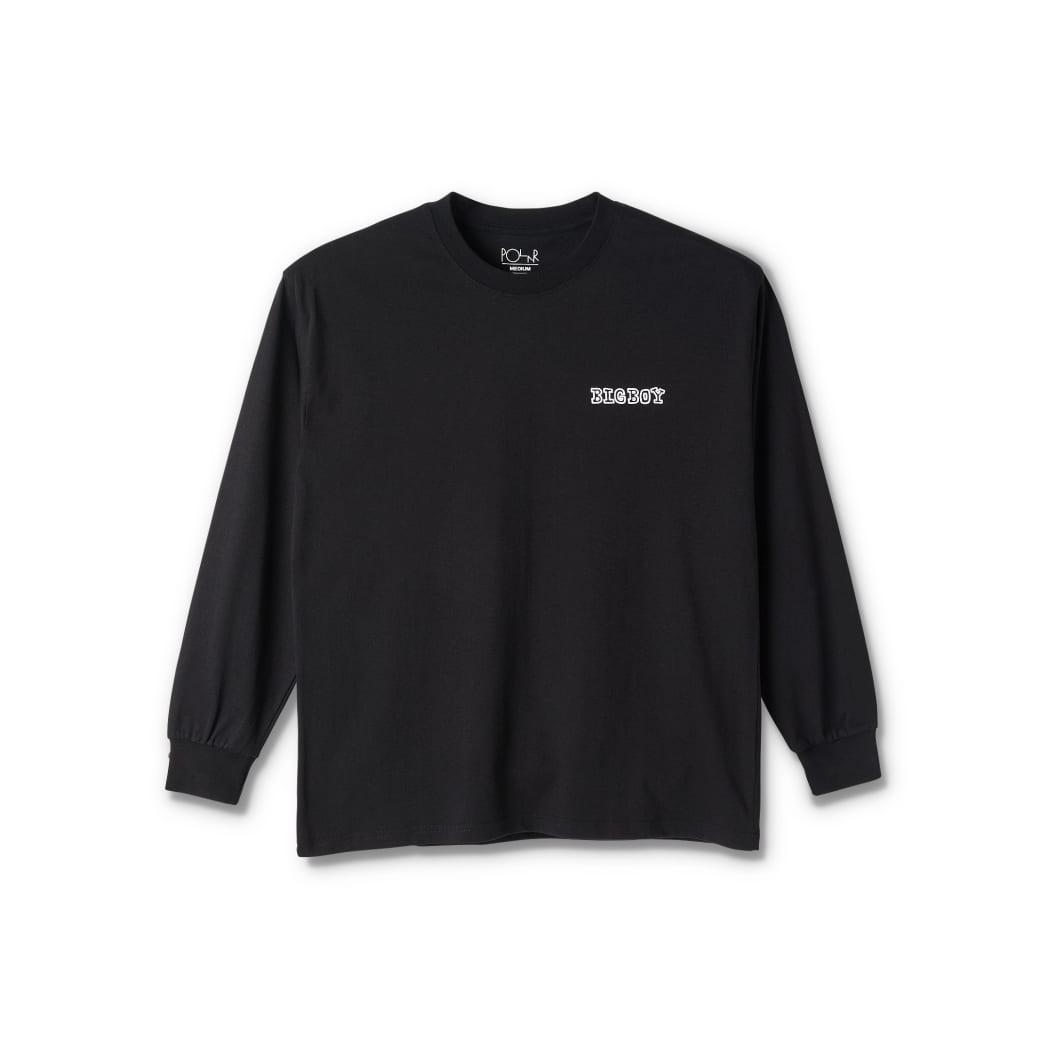 Polar Skate Co Big Boy Long Sleeve T-Shirt - Black | Longsleeve by Polar Skate Co 2