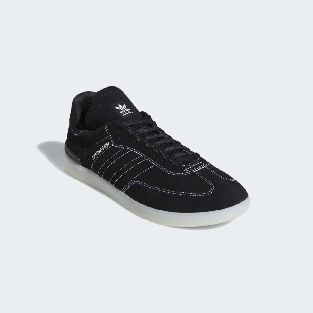Adidas Samba ADV Shoes - Core Black/Cloud White/Crystal White | Shoes by adidas Skateboarding 4