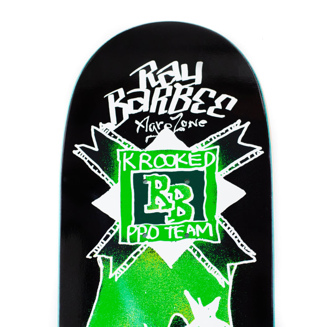 Krooked Ray Barbee Flames Deck 8.38"