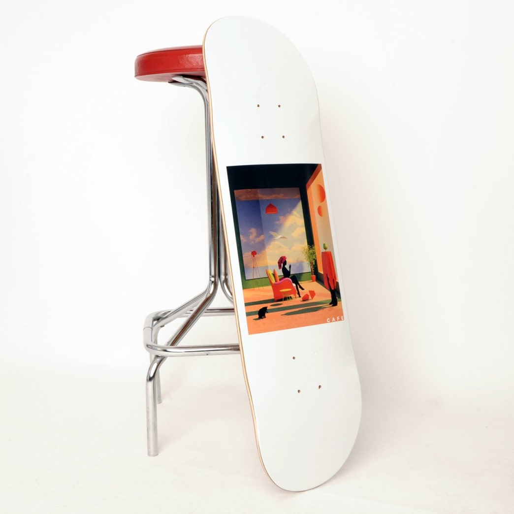 Skateboard Cafe Dawn Skateboard Deck - 8.5"