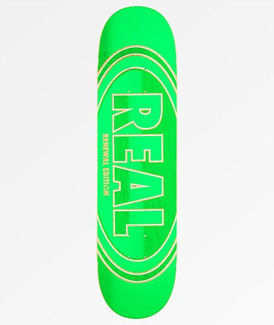 "Real Crossfade Renewal 8.06"" Skateboard Deck | Deck by Real Skateboards 1"