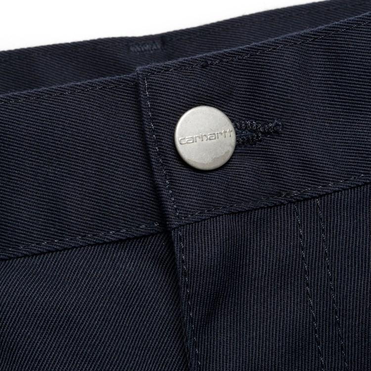 Carhartt WIP Simple Pant - Dark Navy Rinsed | Trousers by Carhartt WIP 6