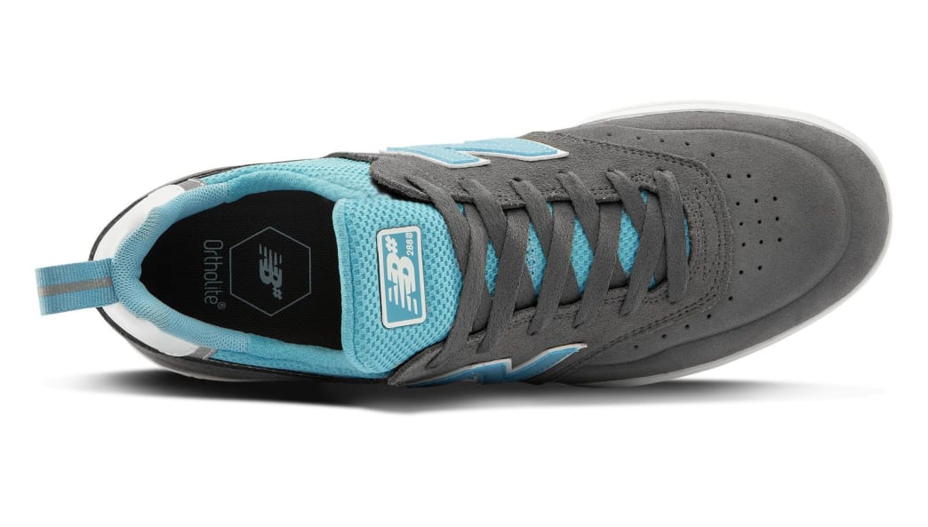 New Balance Numeric 288 Sport Skate Shoe - Grey / Blue   Shoes by New Balance 3