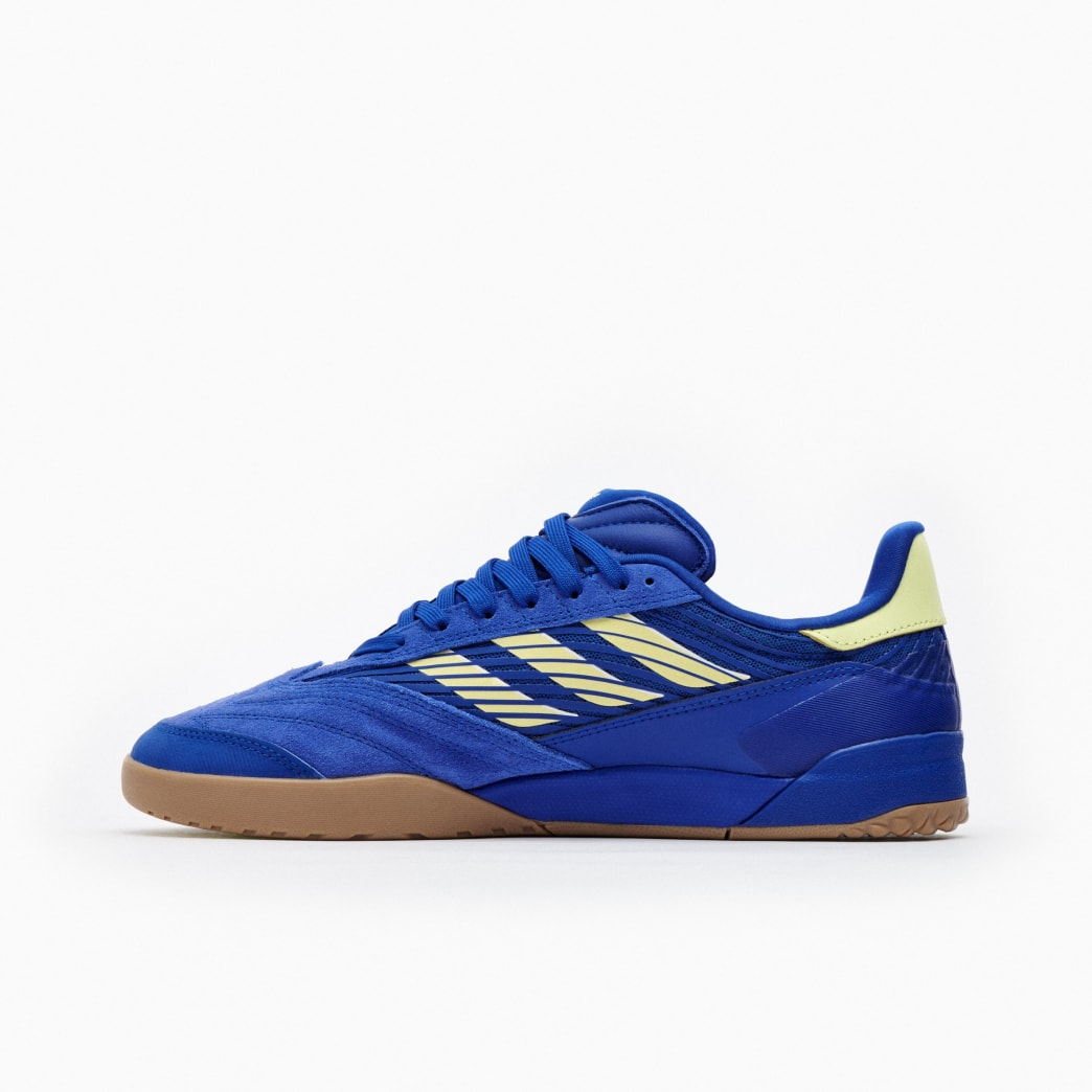 Adidas Copa Nationale Skate Shoe - Team Royal Blue / Yellow Tint / FTWR White | Shoes by adidas Skateboarding 4
