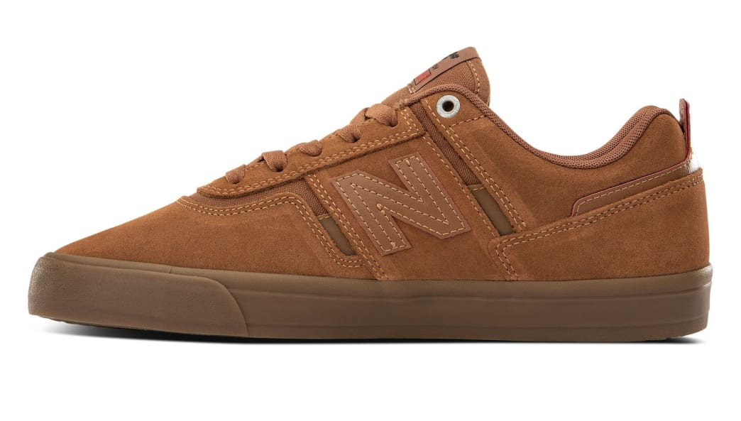 New Balance Numeric 306 x Deathwish Skate Shoes - Cinnamon / Brown | Shoes by New Balance 2