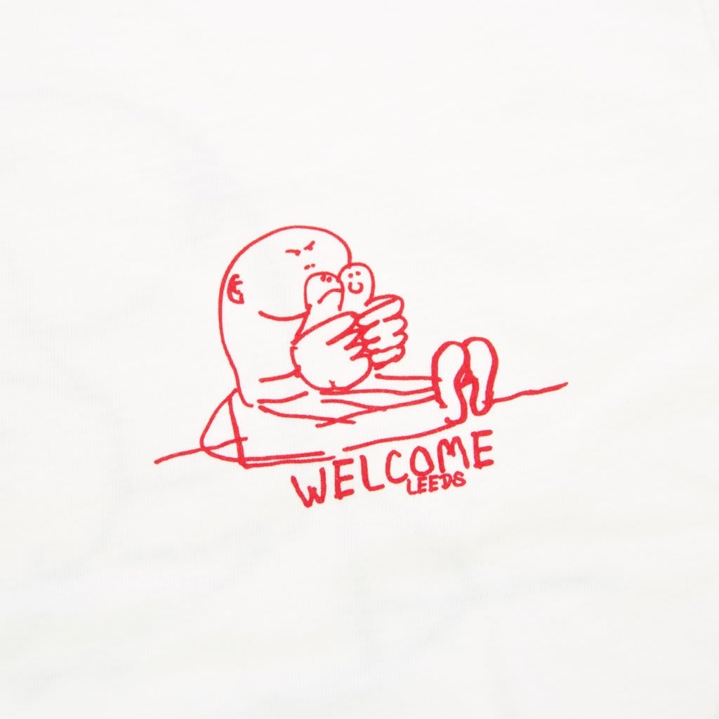Welcome Skate Store - Gonz T-Shirt - White / Red / Forest   T-Shirt by Welcome Skate Store 3