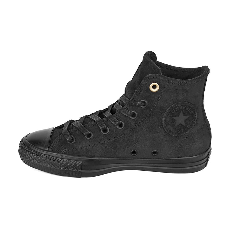 Converse - CTAS Pro Hi Suede - Black / Black | Shoes by Converse Cons 2