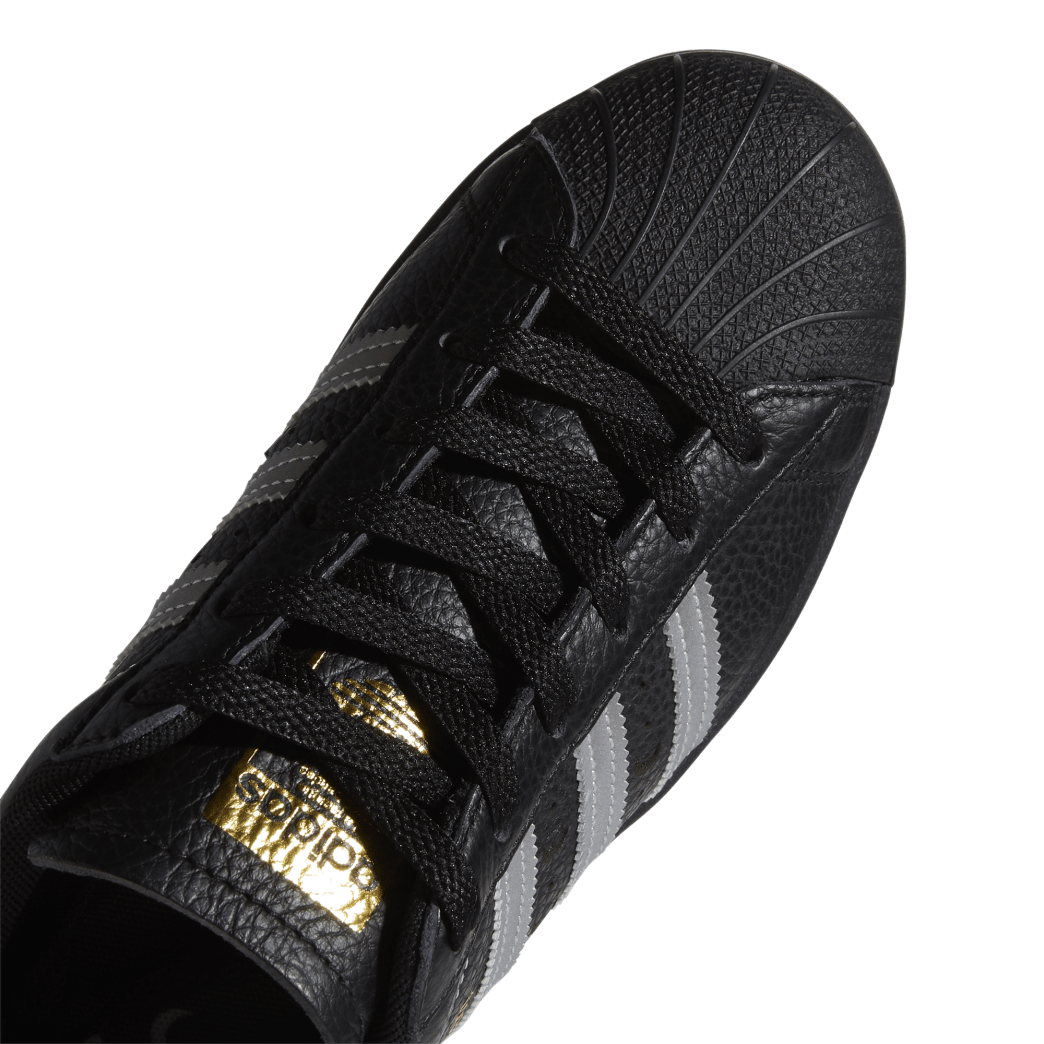adidas Superstar ADV x Soto Skate Shoe - Core Black / Silver Met / Gold Met | Shoes by adidas Skateboarding 8