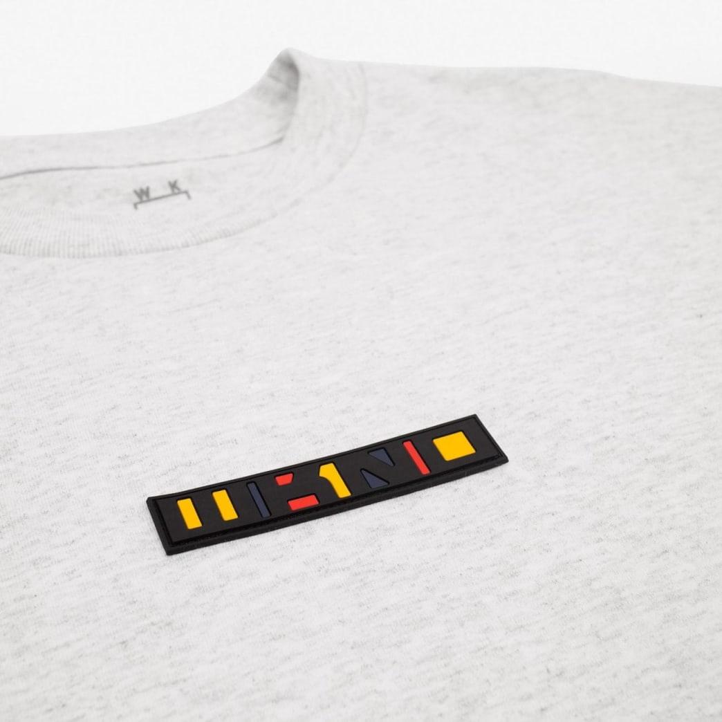 WKND Patchy Long Sleeve T-Shirt - Heather Grey | Longsleeve by WKND 2