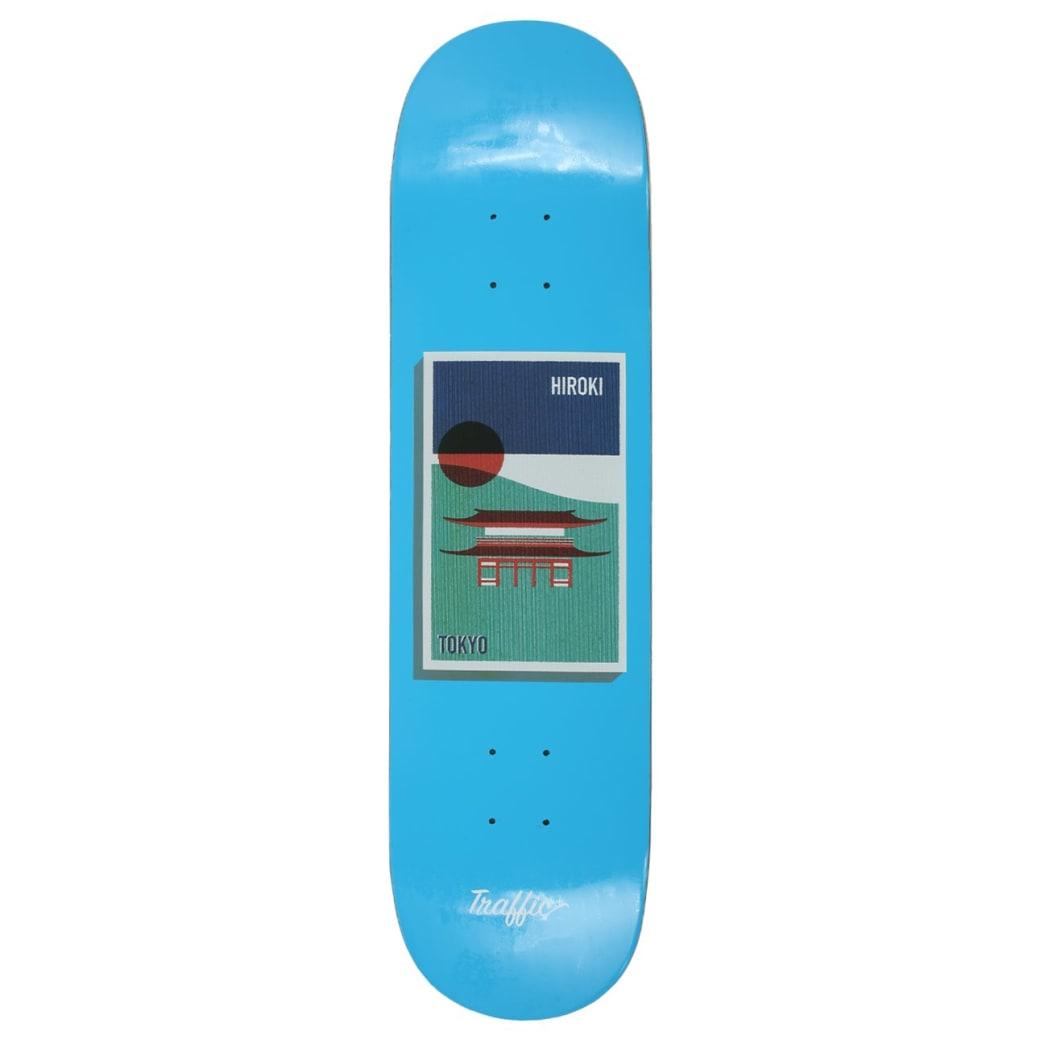 Traffic Skateboards Hiroki Postcard Deck 8.125 | Deck by Traffic Skateboards 1
