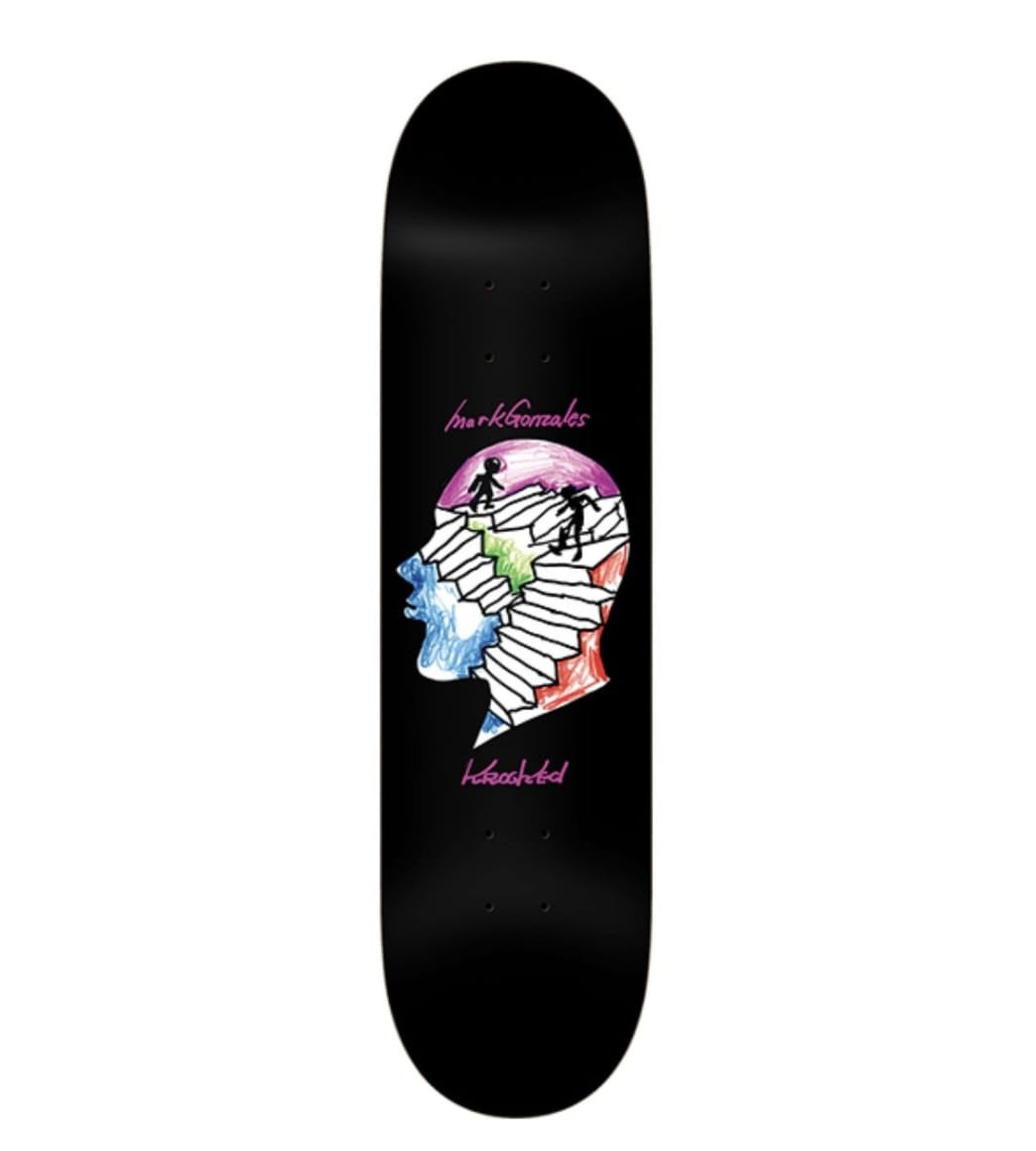 Krooked Gonz Stairs Deck -8.5 | Deck by Krooked Skateboards 1