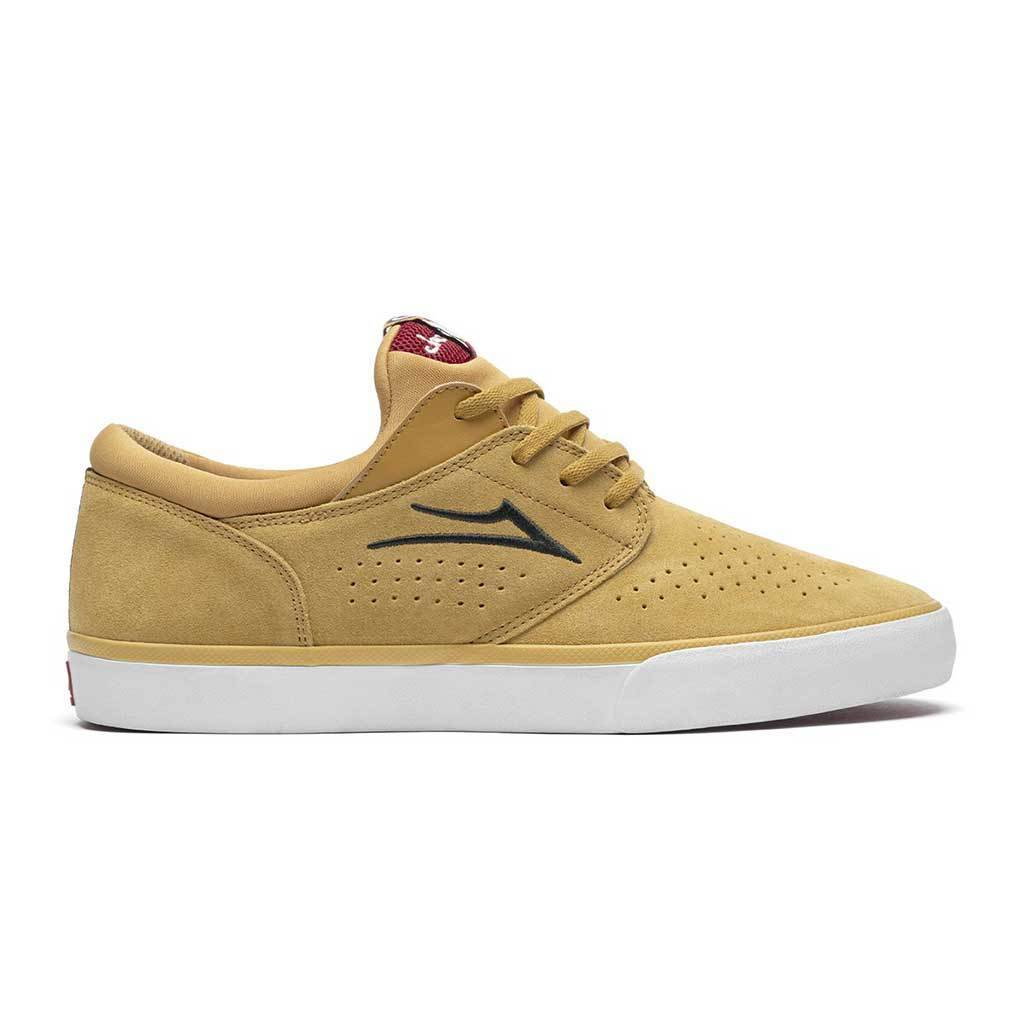Lakai - Lakai x Chocolate Fremont Vulcanized Suede | Gold | Shoes by Lakai 1