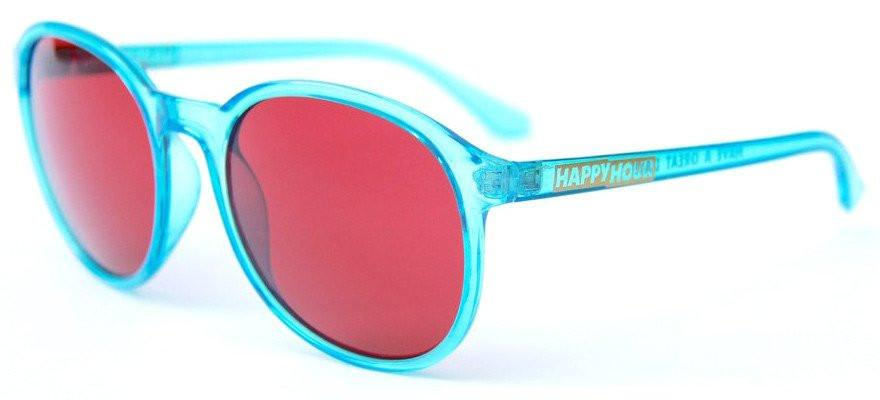 Happy Hour Manhattans - Crystal Blue/Red | Sunglasses by Happy Hour 2