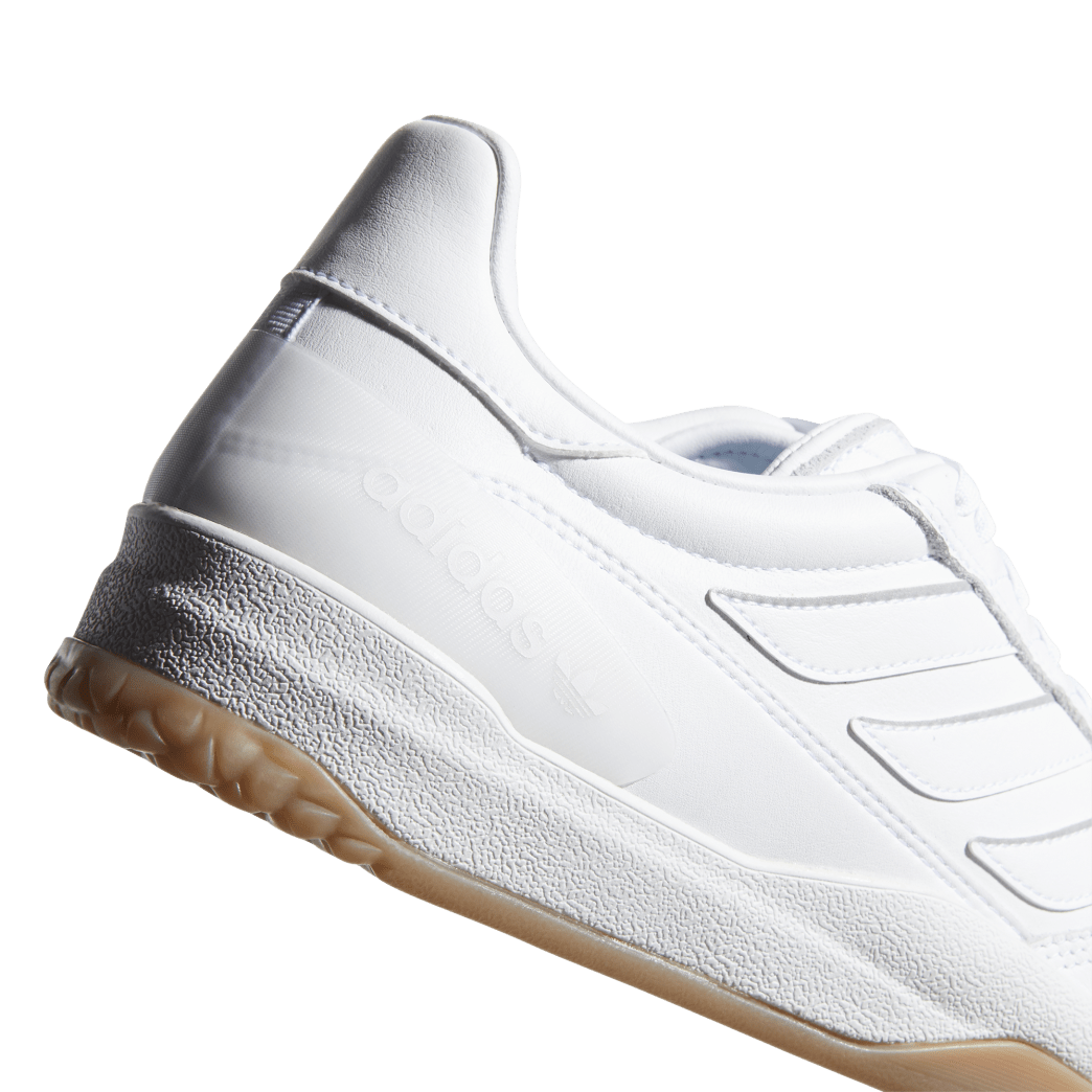 adidas Copa Nationale Skate Shoe - FTWR White / Silver Met / Gum | Shoes by adidas Skateboarding 7