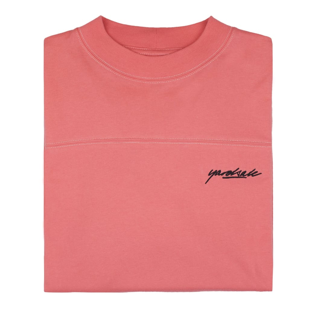 Yardsale Script Polo Long Sleeve - Pink | Longsleeve by Yardsale 2