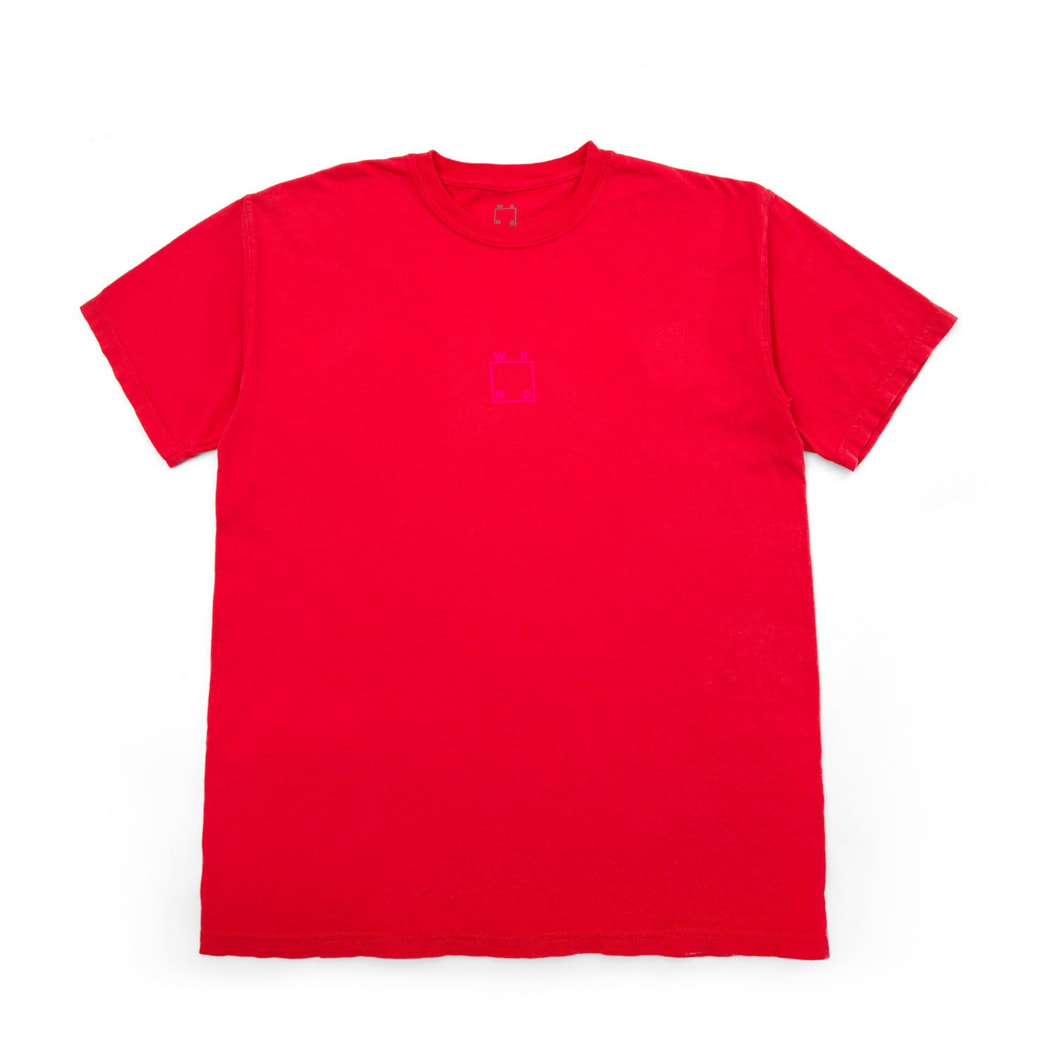 WKND Center Logo T-Shirt - Paprika   T-Shirt by WKND 1