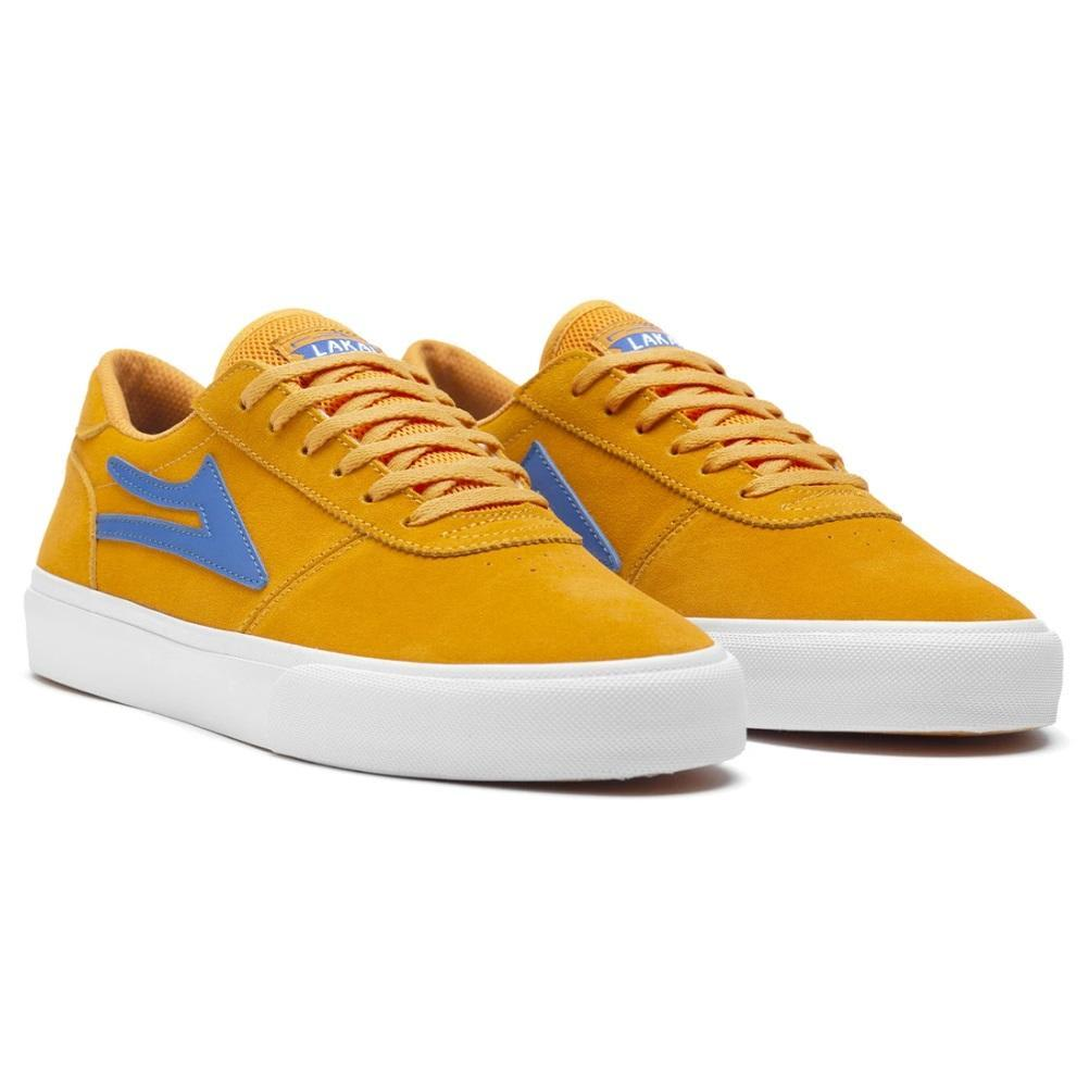 Lakai Manchester Suede Skate Shoes - Mandarin | Shoes by Lakai 2