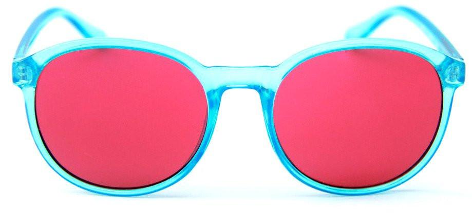Happy Hour Manhattans - Crystal Blue/Red | Sunglasses by Happy Hour 1