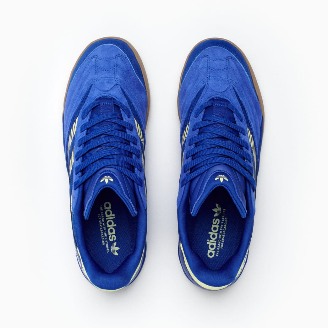 Adidas Copa Nationale Skate Shoe - Team Royal Blue / Yellow Tint / FTWR White | Shoes by adidas Skateboarding 6