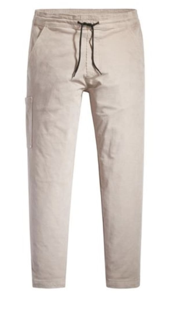 Levi's Pull On Taper Corduroy Pant II - Fawn (Blush) | Chinos by Levi's Skateboarding 1