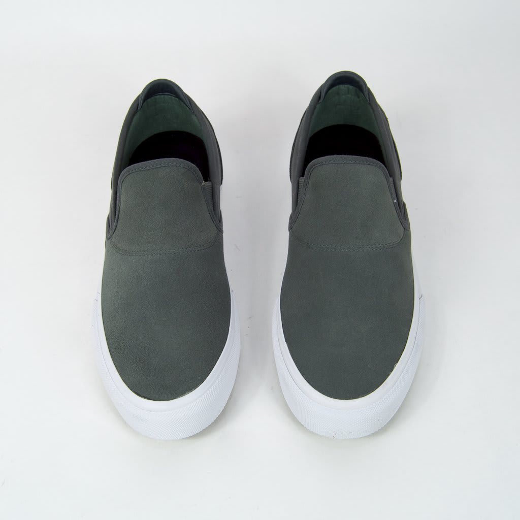 Emerica Wino G6 Slip-On Skate Shoes - Grey | Shoes by Emerica 5