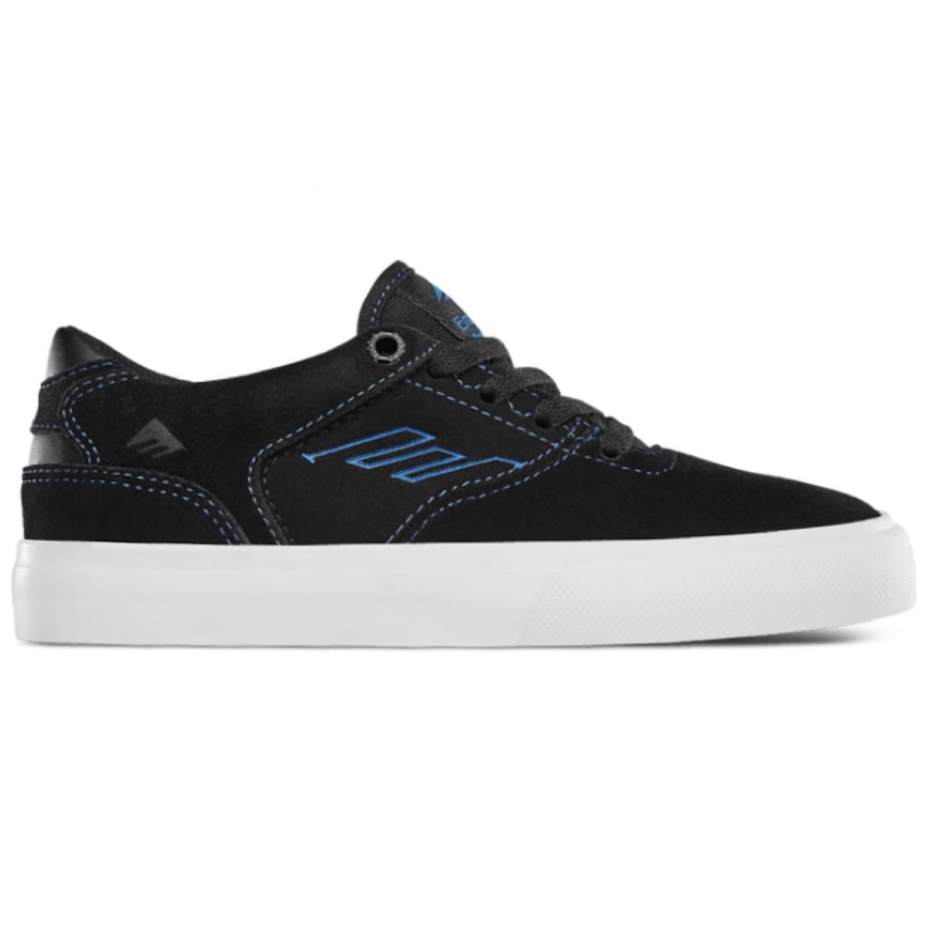 Emerica - The Low Vulc Youth - Black/Blue | Vulcs by Bad Image 1