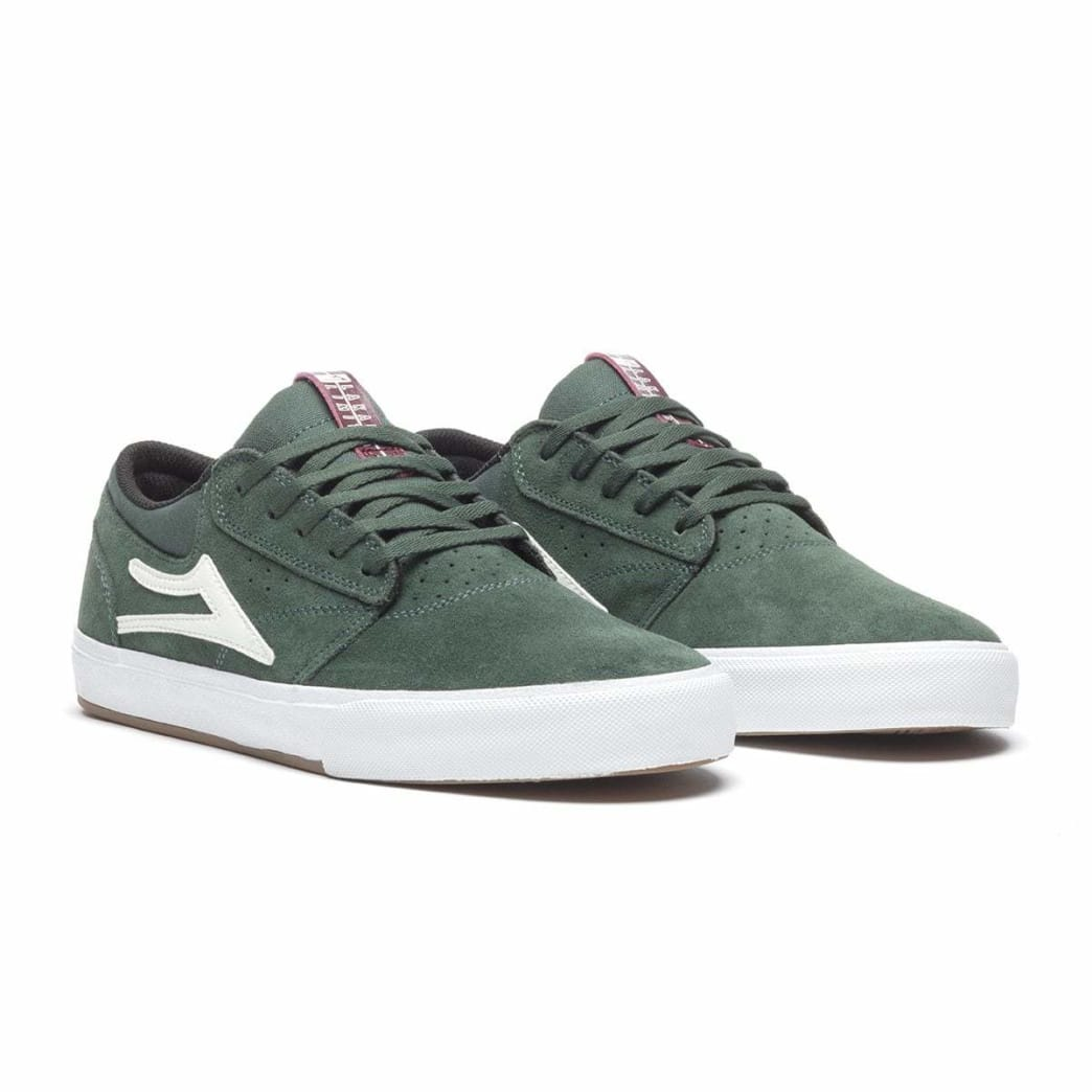 Lakai Griffin VLK Suede Skate Shoe - Pine | Shoes by Lakai 2