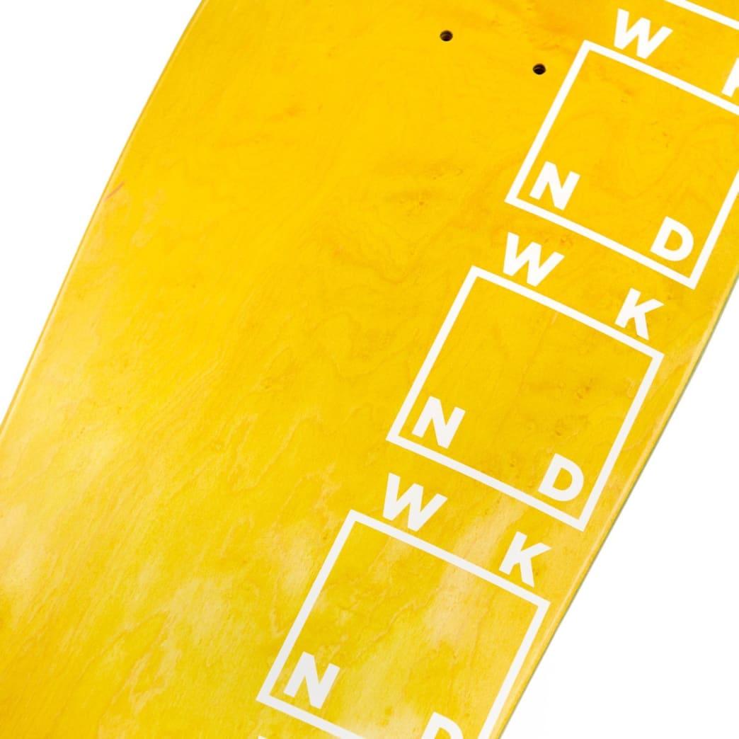 """WKND Side Logo Skateboard Deck - 9.875""""   Deck by WKND 3"""