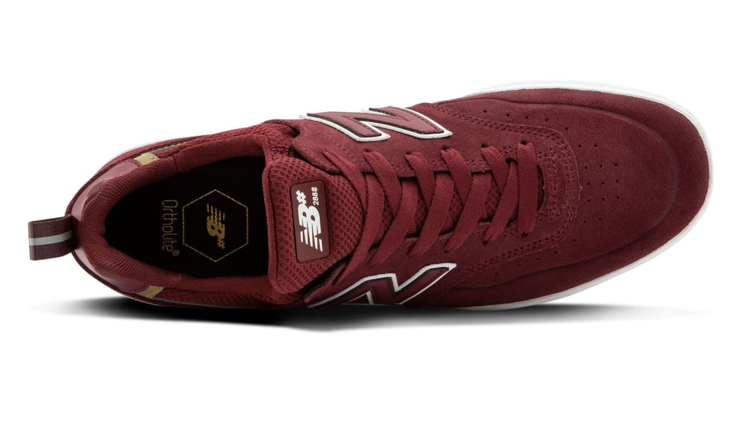 New Balance Numeric 288 Sport Skate Shoes - Burgundy / Grey | Shoes by New Balance 3