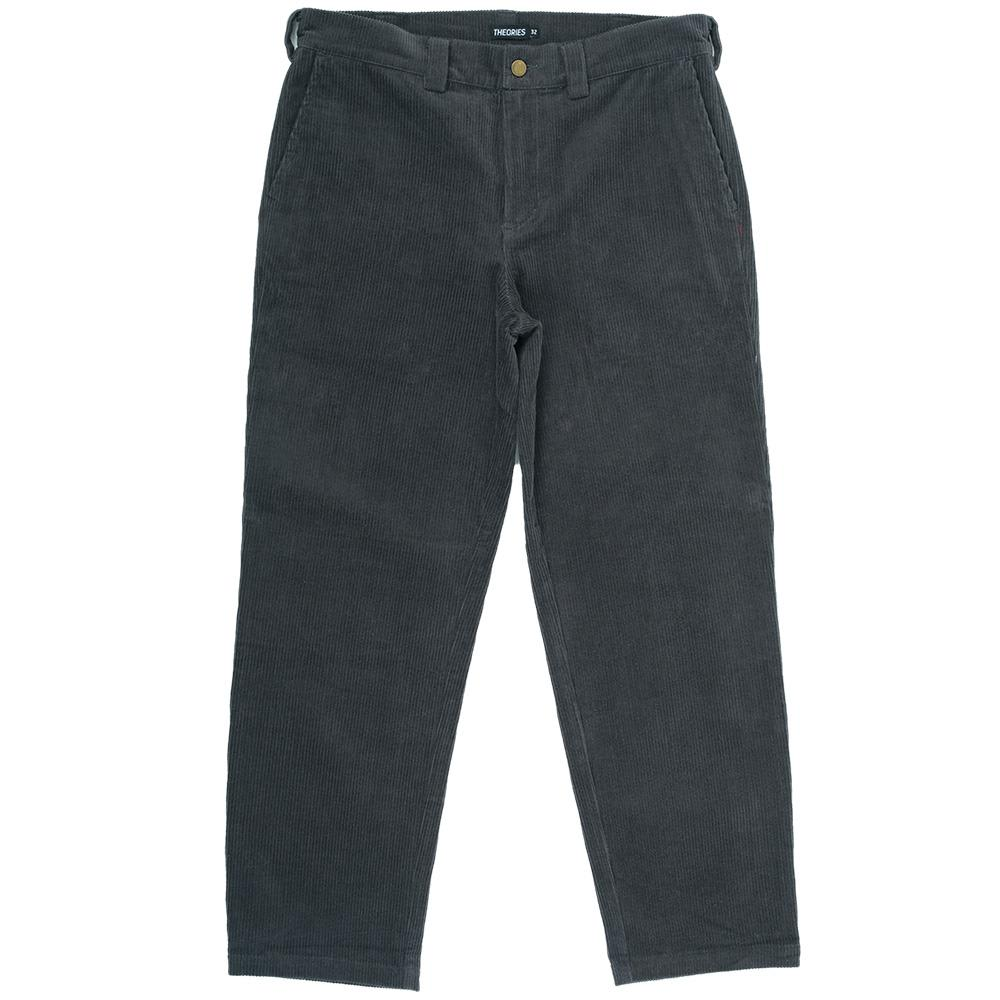 Theories Stamp Work Pant Cord Pewter   Trousers by Theories of Atlantis 1