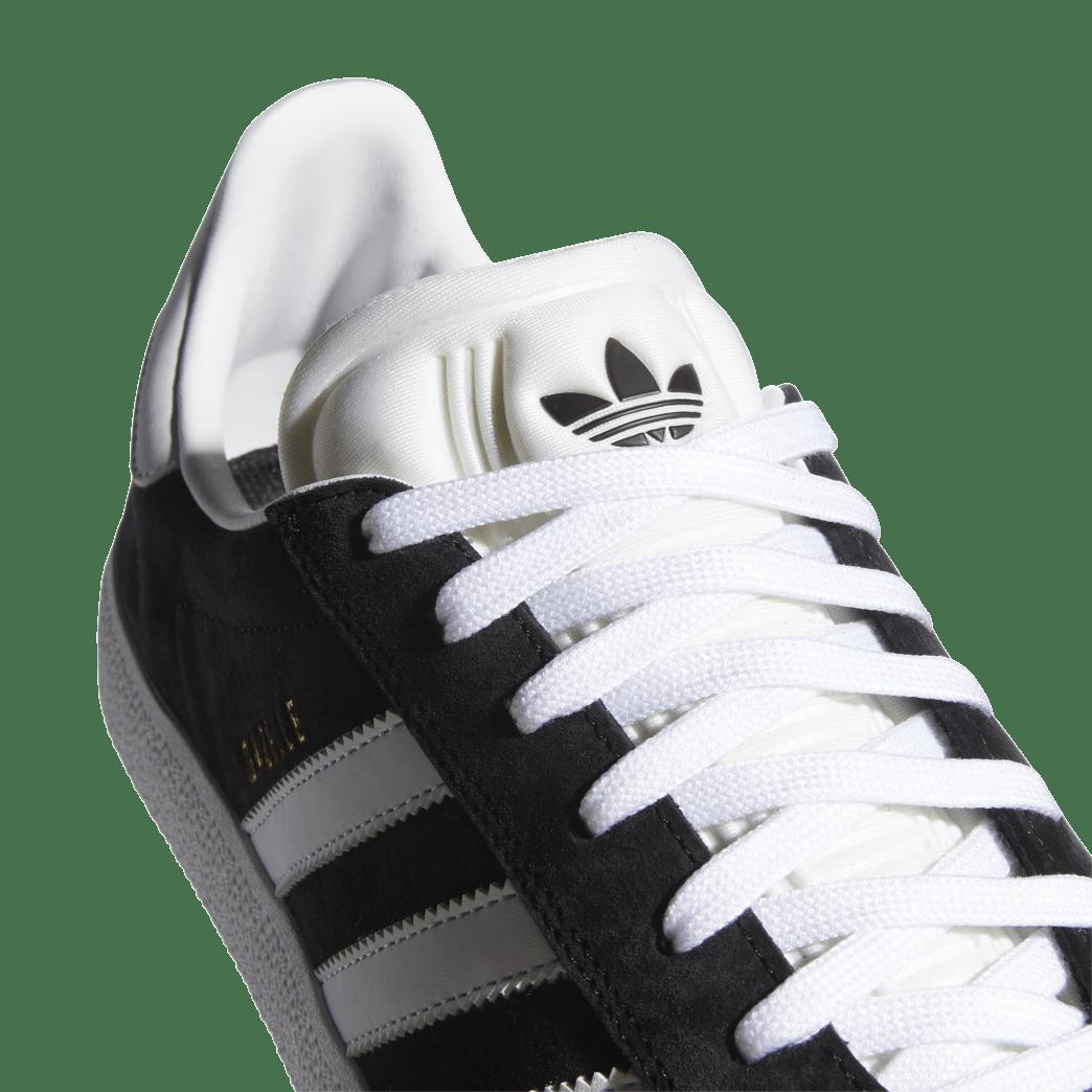 adidas Skateboarding Gazelle ADV Shoes - Core Black / FTWR White / Gold Met | Shoes by adidas Skateboarding 7