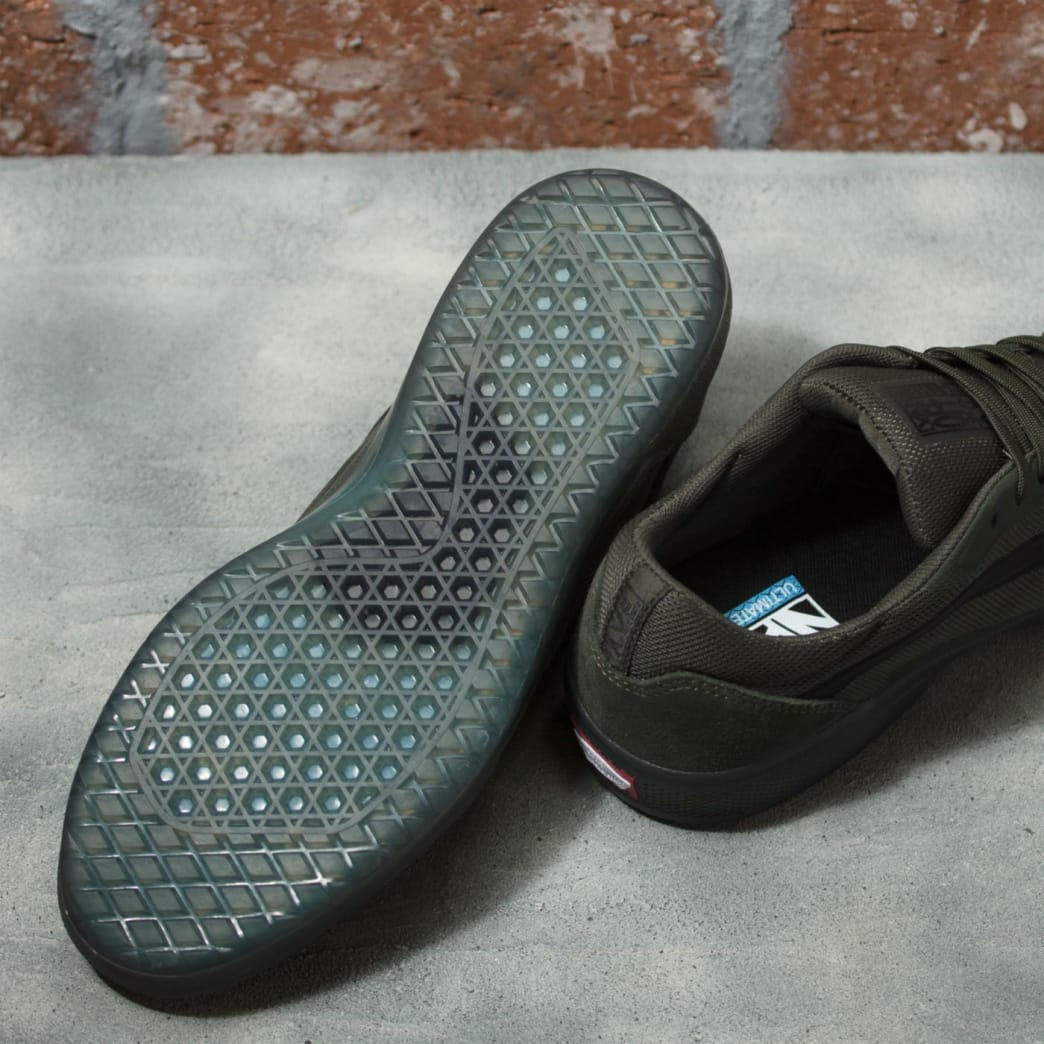 Vans AVE Pro Rainy Day Skate Shoes - Forest Night / Black | Shoes by Vans 4