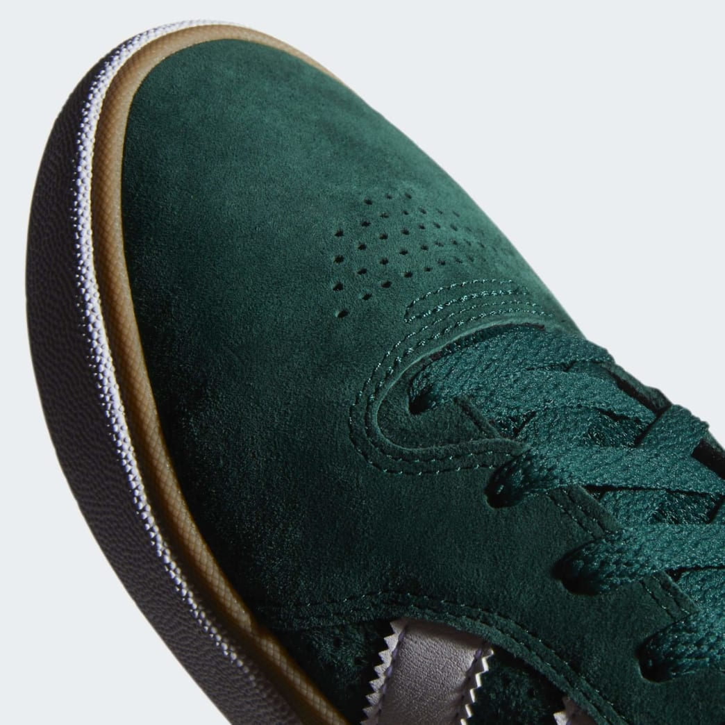 adidas Tyshawn Jones Shoes - Collegiate Green/Cloud White/Gum | Shoes by adidas Skateboarding 9